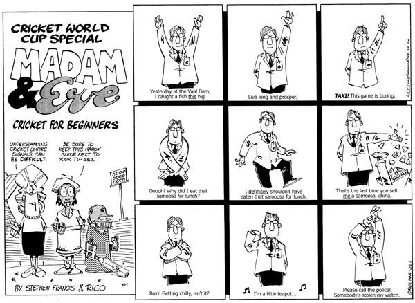 Cricket Understanding Umpire Signals For Dummies